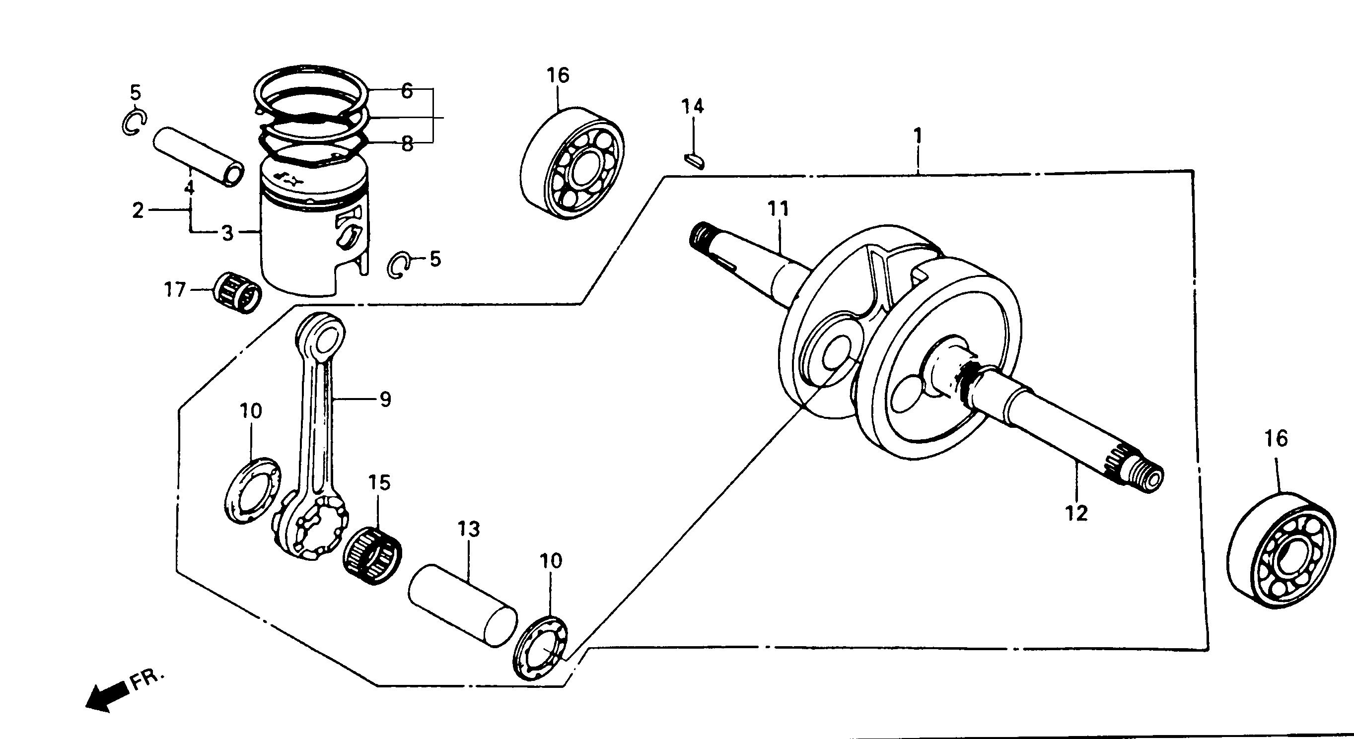 Zylinderkolben Satz Kolben set Naraku 50ccm Roller für Daelim Tapo 50